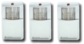 3  Wireless Motion Detectors