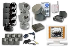 Pctvweb 6 Camera Surveillance System