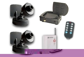 Wireless Security Cameras  2 Cam System