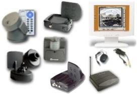 Expanded Pcwebtv Pan  Tilt Surveillance Camera System