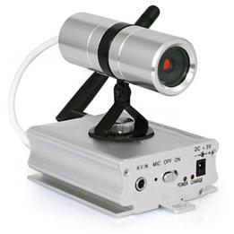 Wireless 24Ghz Security Camera W Receiver